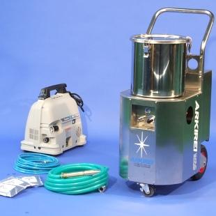 低圧力排水管洗浄機のイメージ